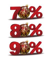 Percent discount icon