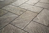 Fototapety near mozzate street lombardy italy  varese   pavement of a curch