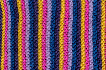 knitted striped background