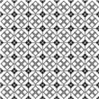 Geometric monochrome seamless pattern