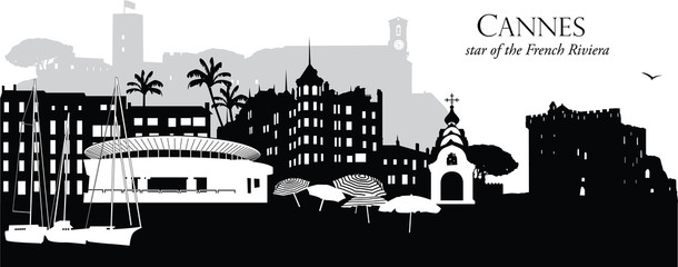 Cannes_Cityscape