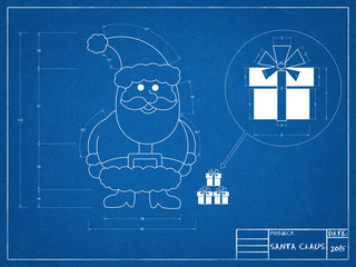 Santa Claus Blueprint