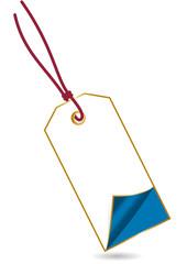 Anhänger gold blau