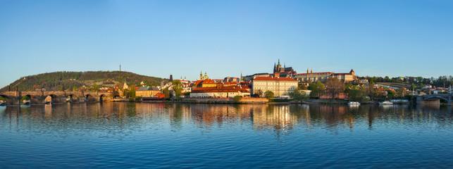 Panorama of Prague: Gradchany (Prague Castle), St. Vitus Cathedr