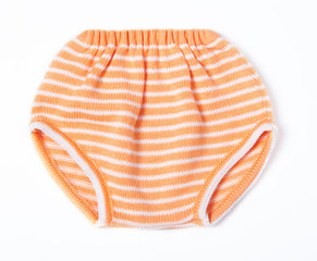 Children's knitted briefs