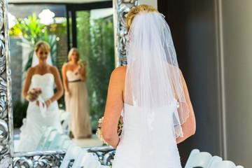Bride Mirror Reflections