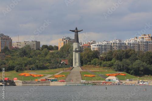 Mother patroness monument in Cheboksary - 73727806