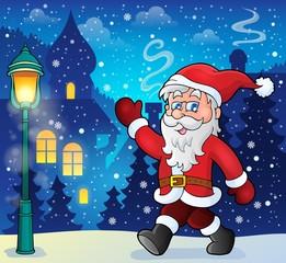 Santa Claus walk theme 6