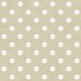 Fototapety Beige and White Large Polka Dots Pattern Repeat Background