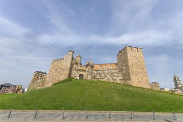 Castillo templario, Ponferrada, León province, España