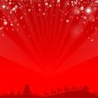 Weihnachten Schlitten Rentiere Sterne