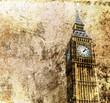London - Big Ben - Altes Retro Foto - 73730883