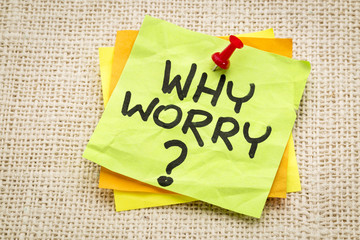why worry question