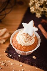 weihnachtlicher spekulatius cupcake I