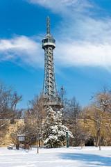 Observation tower Petrin, Prague, Czech republic
