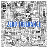Simple Zero Tolerance Concept in Word Tag Cloud poster