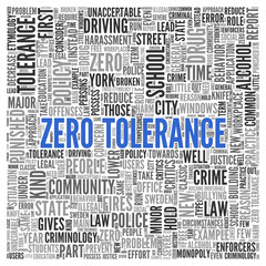 Simple Zero Tolerance Concept in Word Tag Cloud