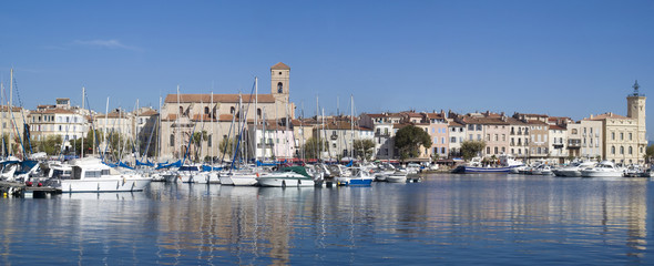 La Ciotat harbour, French Riviera