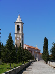 The Parish church of Saint Michael in the town Murter