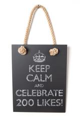 Celebrate 200 likes