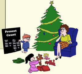Christmas Present Count