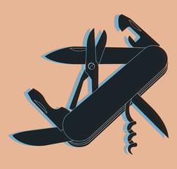 Couteau Suisse pop
