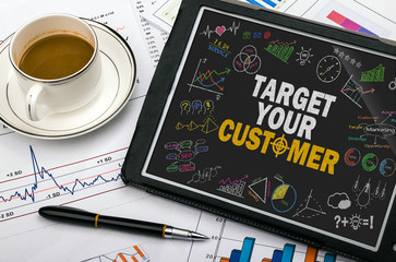target your customer concept