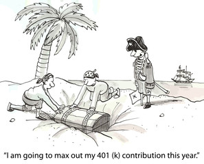 """I am going to max out my 401 (k) contribution this year."""
