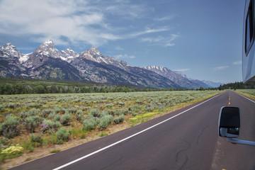 Mit dem RV durch Grand Teton