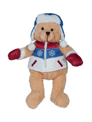 Olympic teddy bear