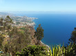 canvas print picture - Blick vom Cabo Girao Richtung Funchal, Madeira