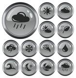 Weather button set