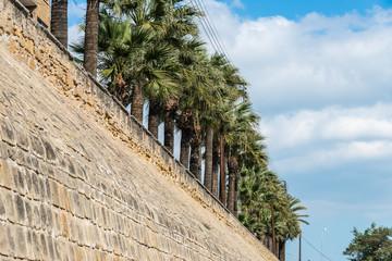 Cyprus - Ancient city wall at Nicosia