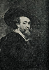 Self-portrait of Peter Paul Rubens, Flemish painter (1623)