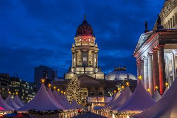 Berlin Weihnachtsmarkt am Gendarmenmarkt
