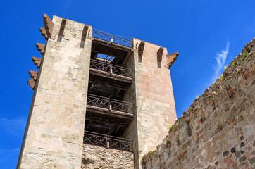 Sardegna, Bosa, Castello medievale dei Malaspina
