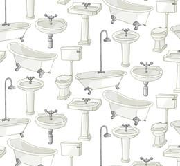 salle de bain motif