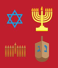 Hannukah symbols