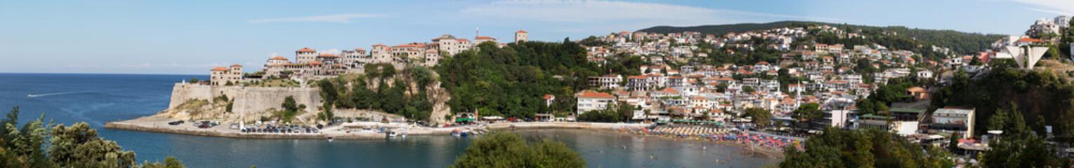Old center of Ulcinj city Montenegro