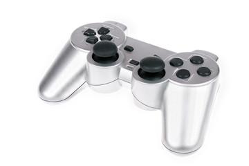 Silver joystick