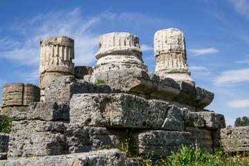 Colonne a Paestum