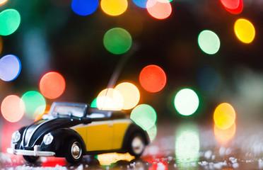 Christmas baby car