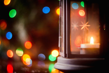 Bright Christmas lamp