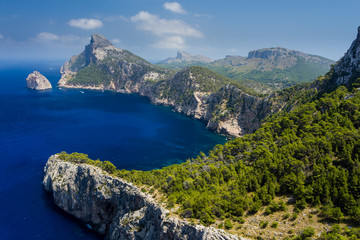 Kap Formentor, Mallorca, Spanien