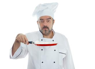 Playful chef