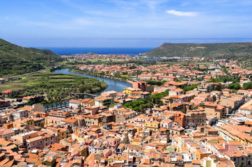 Sardegna, veduta di Bosa
