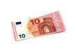 Leinwanddruck Bild - 10 Euro Vorderseite
