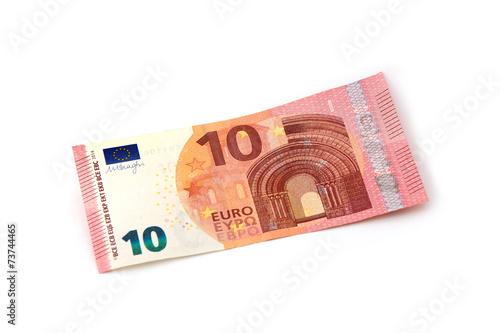 Leinwanddruck Bild 10 Euro Vorderseite