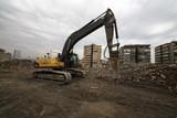 Work Machine on debris