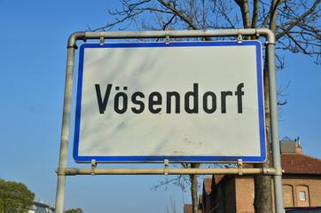 Ortsschild Vösendorf